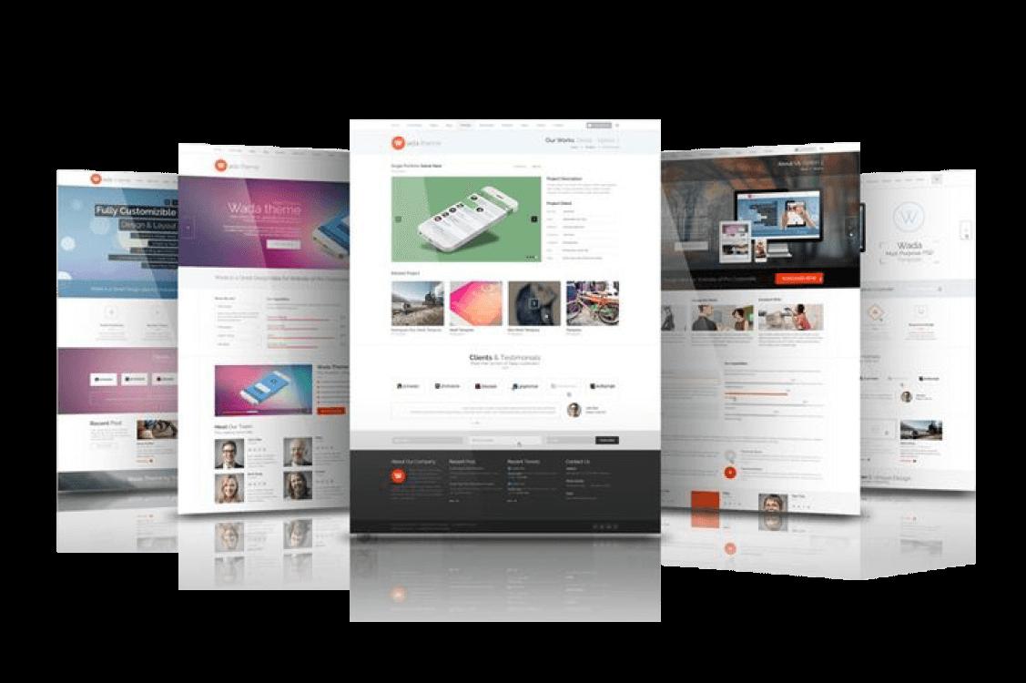 Local website development